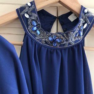 Fun Little Sapphire Dress!